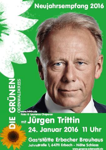 Jürgen Trittin zu Gast in Erbach