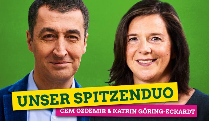 Bundestagswahl, Cem, Grüne, Ökologie, Robert Habeck